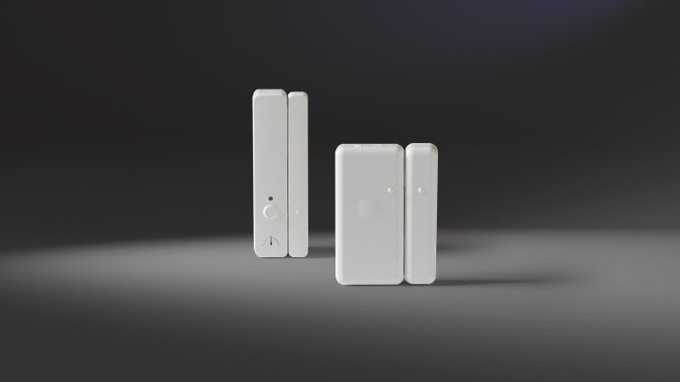 Connected Home Fensterkontaktschalter groß und klein