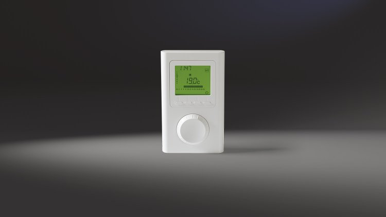 Connected Home programmierbares Funkthermostat
